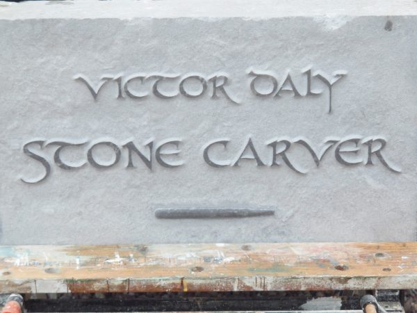 victor daly stone carver