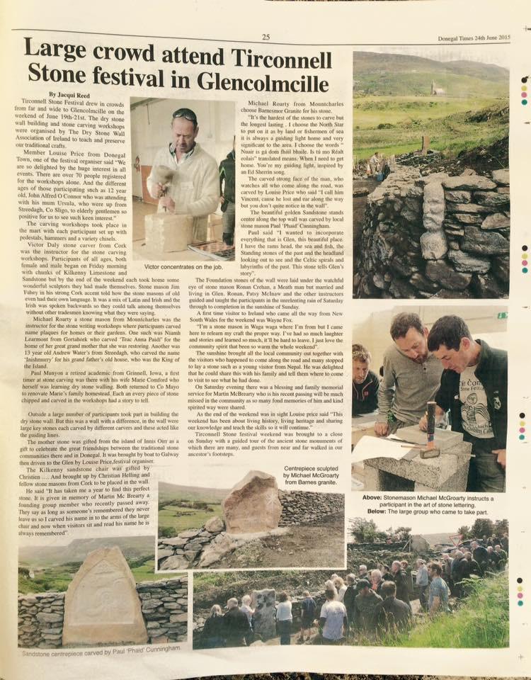 Tirconnell Stone Festival