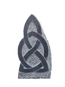 Celtic knot sculpture