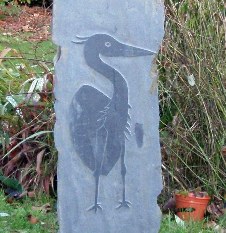 Heron Carving Victor Daly
